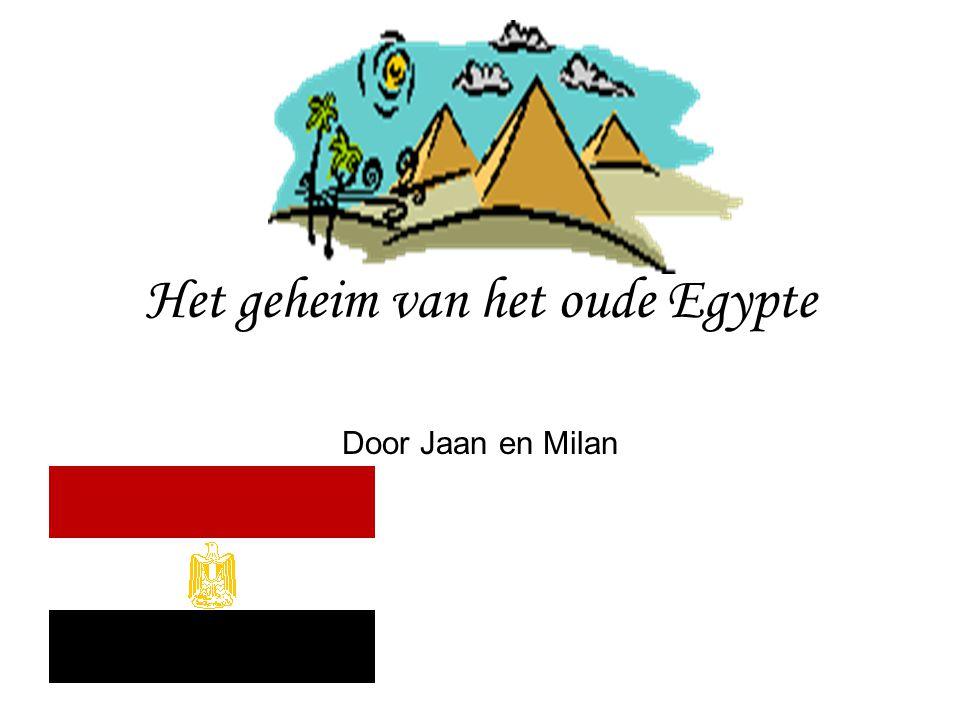 Het geheim van het oude Egypte