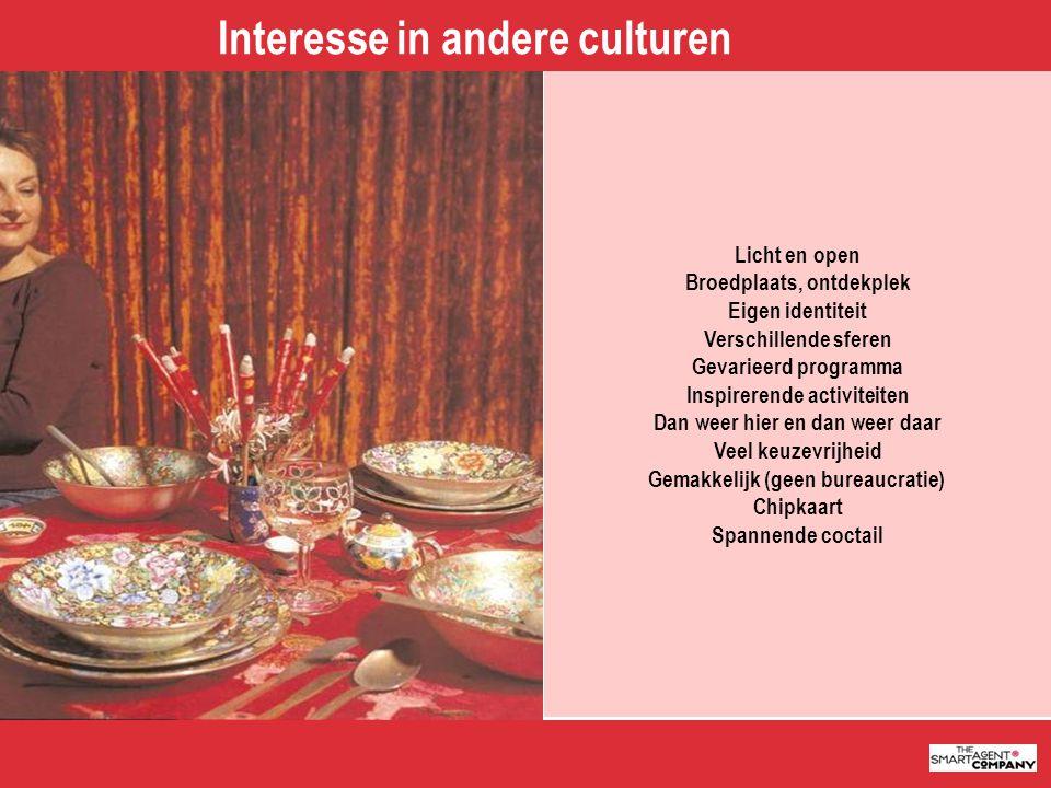 Interesse in andere culturen