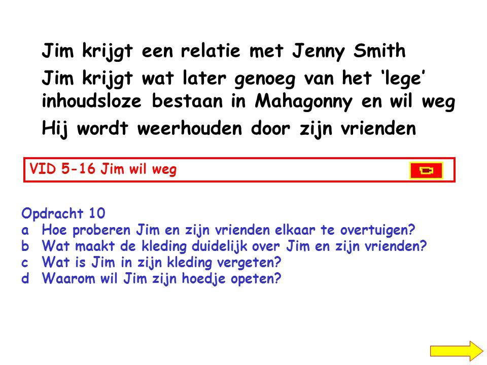 Jim krijgt een relatie met Jenny Smith