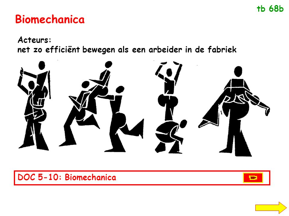 Biomechanica tb 68b Acteurs: