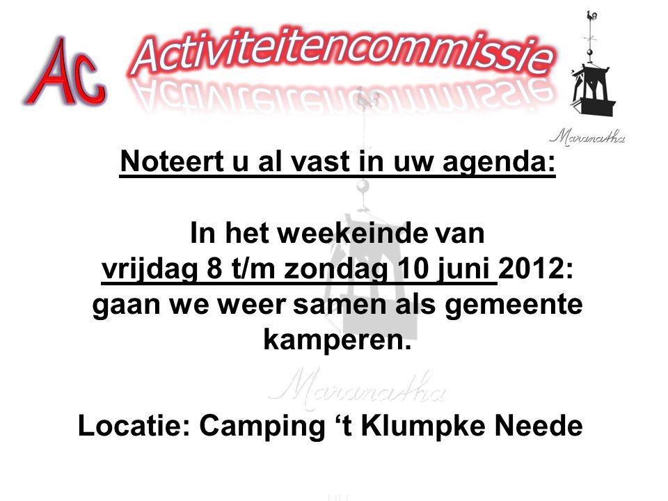 Locatie: Camping 't Klumpke Neede