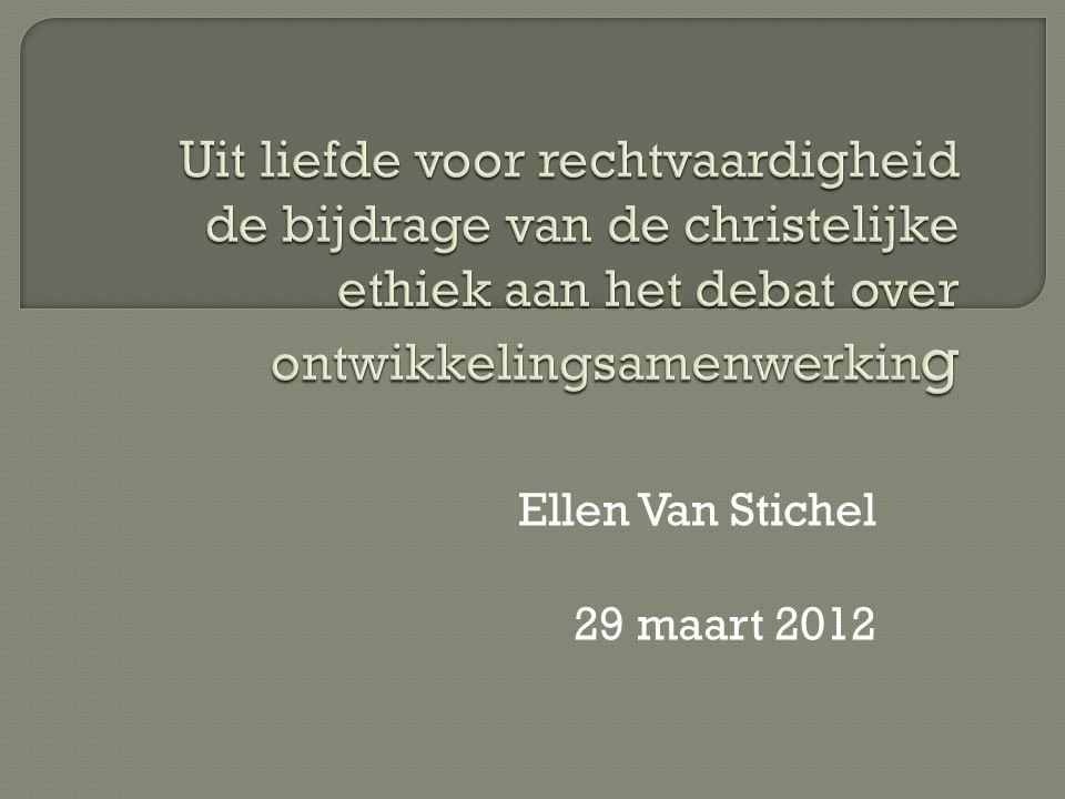 Ellen Van Stichel 29 maart 2012