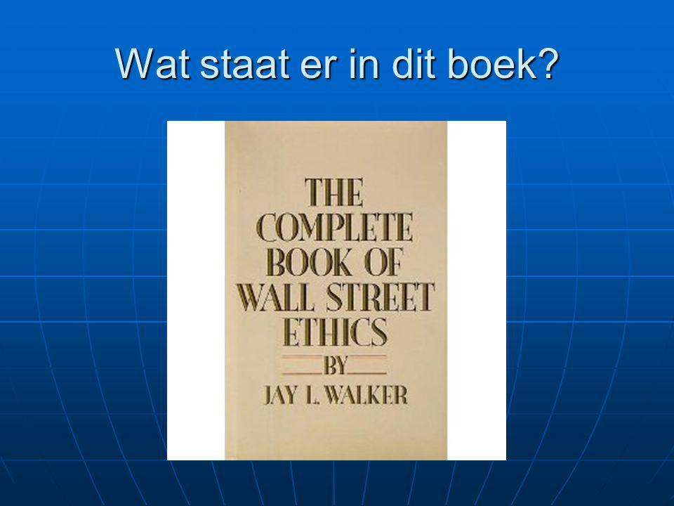 Wat staat er in dit boek