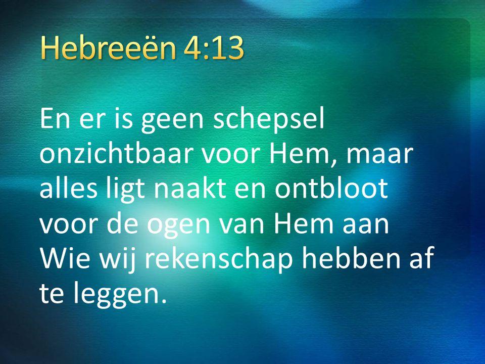 Hebreeën 4:13