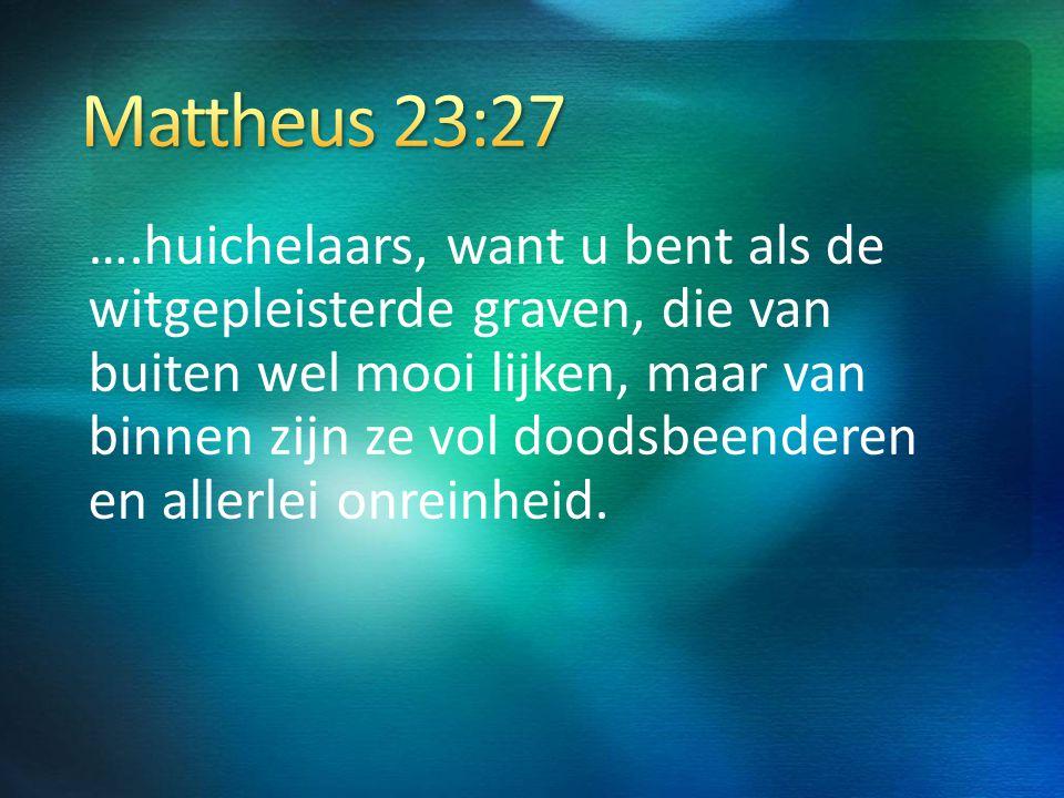 Mattheus 23:27