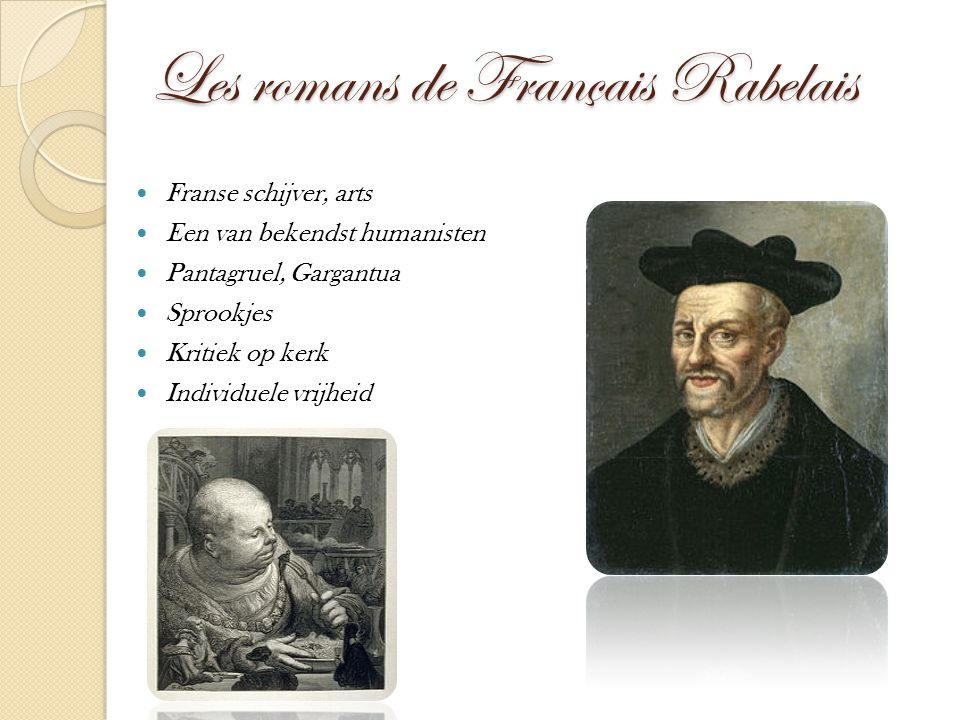 Les romans de Français Rabelais