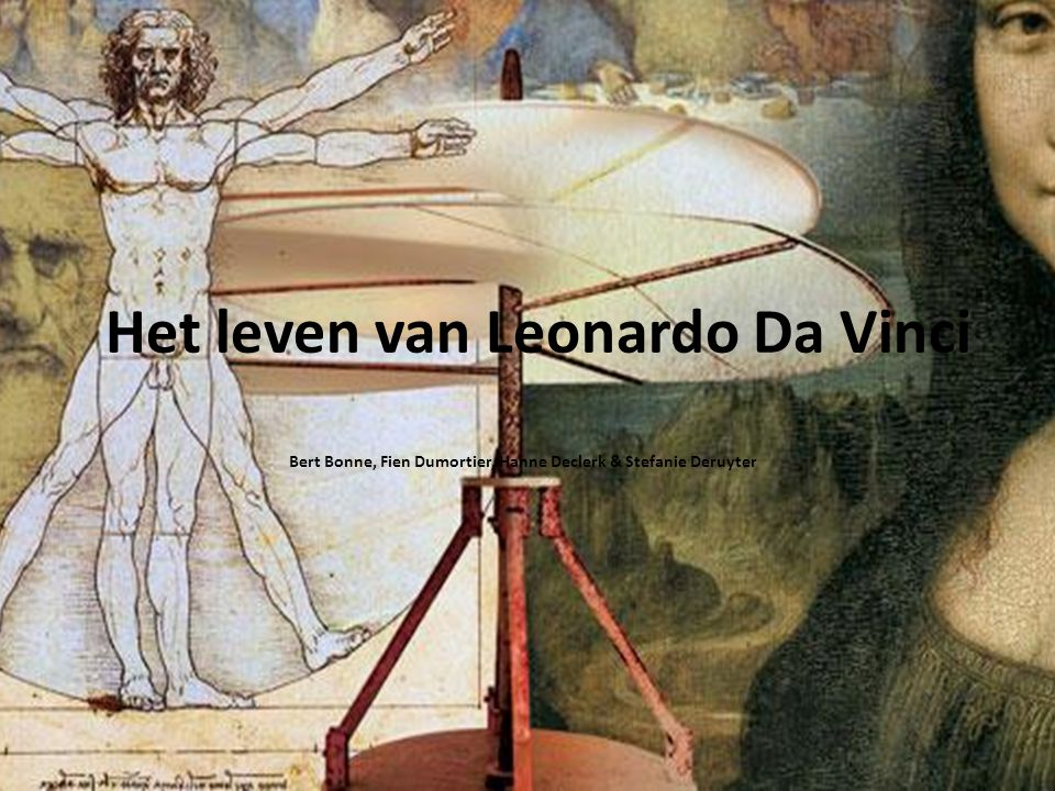 Het leven van Leonardo Da Vinci