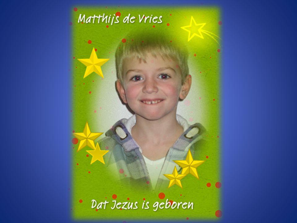 Matthijs de Vries Dat Jezus is geboren.
