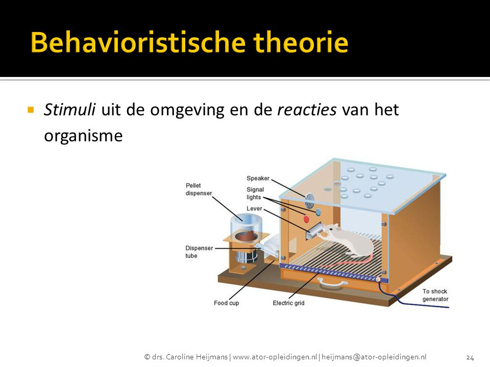 Behavioristische theorie