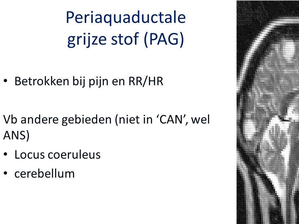Periaquaductale grijze stof (PAG)