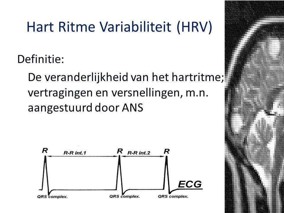 Hart Ritme Variabiliteit (HRV)