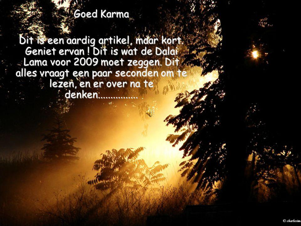 Goed Karma