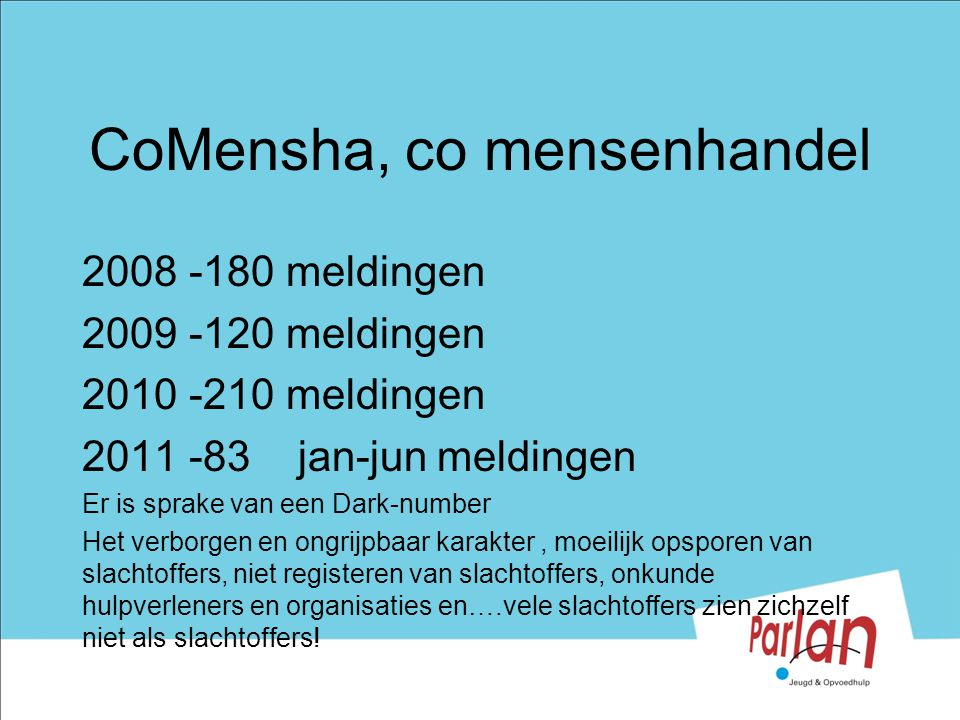 CoMensha, co mensenhandel