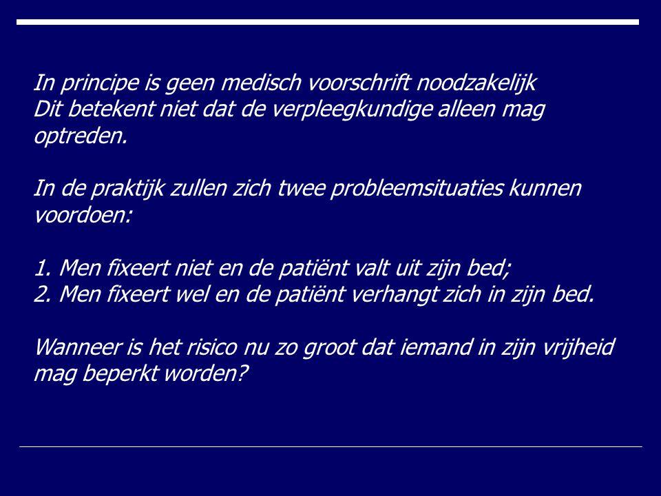 In principe is geen medisch voorschrift noodzakelijk