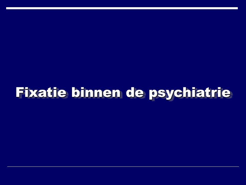Fixatie binnen de psychiatrie