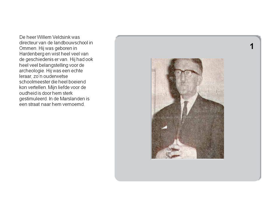 De heer Willem Veldsink was directeur van de landbouwschool in Ommen