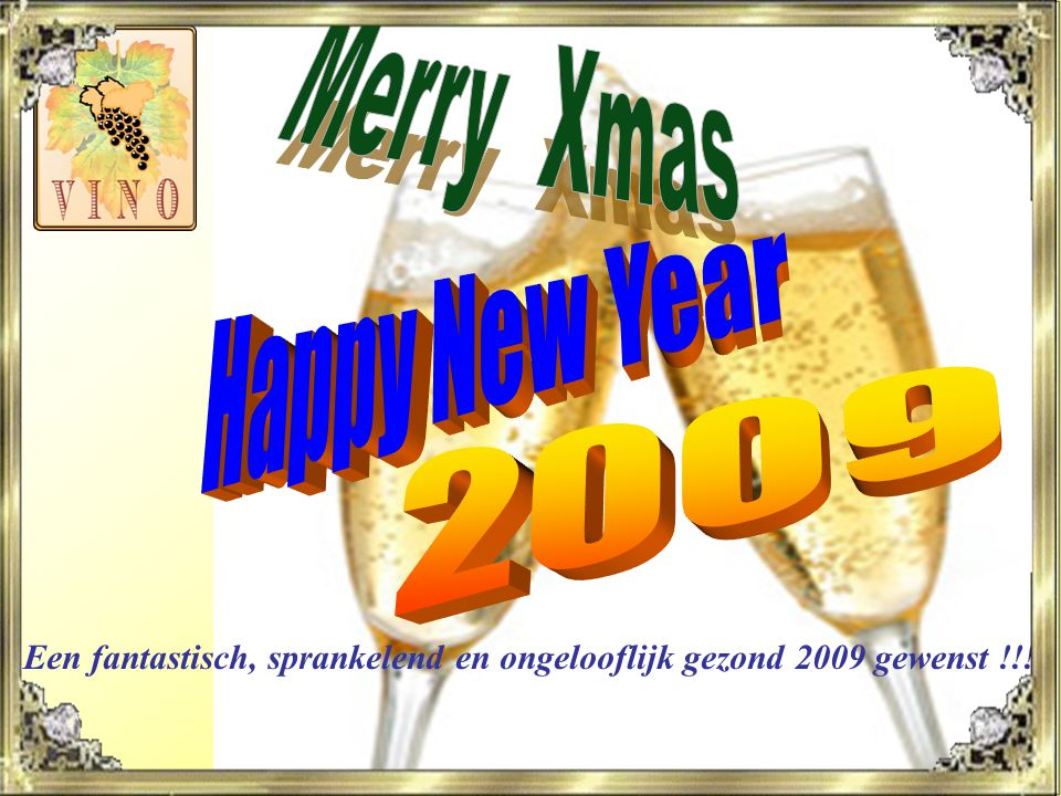 Merry Xmas Happy New Year 2009
