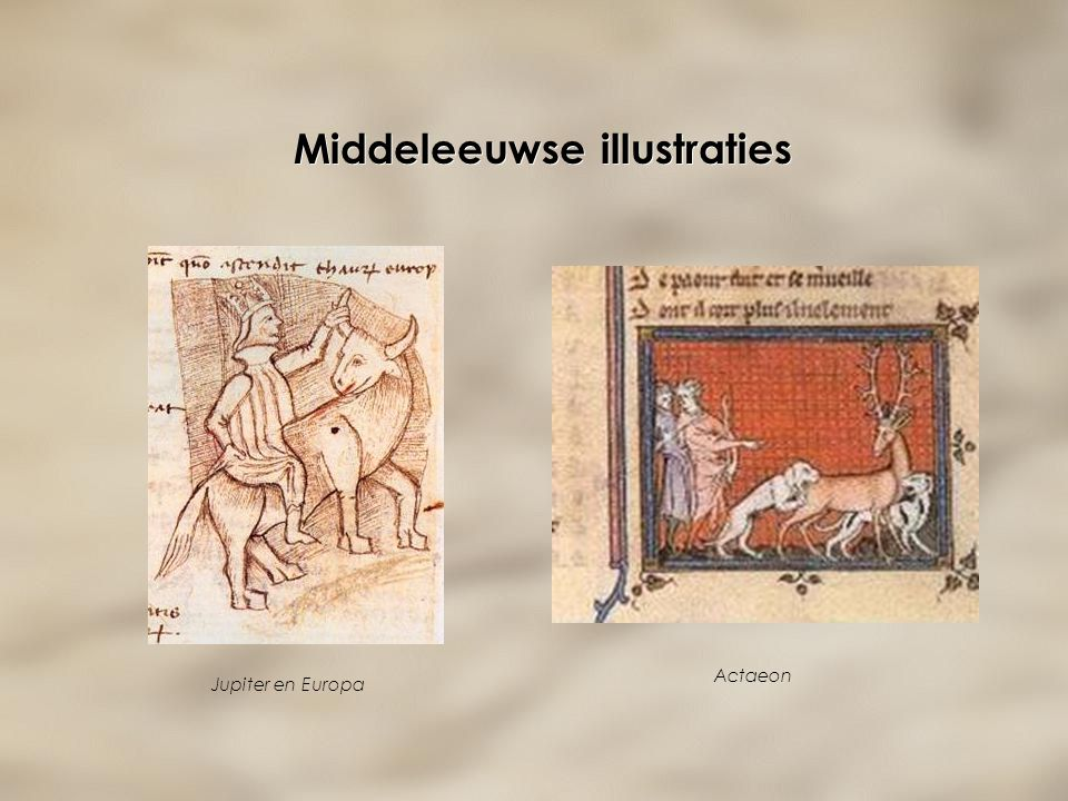 Middeleeuwse illustraties