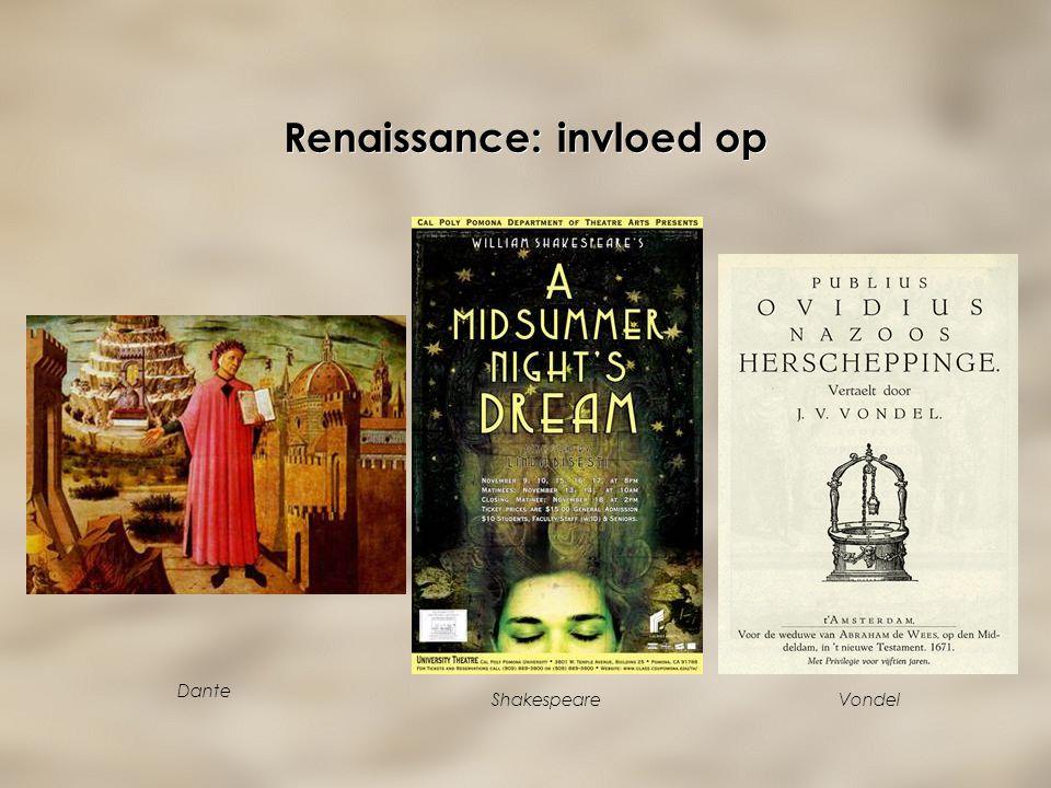 Renaissance: invloed op