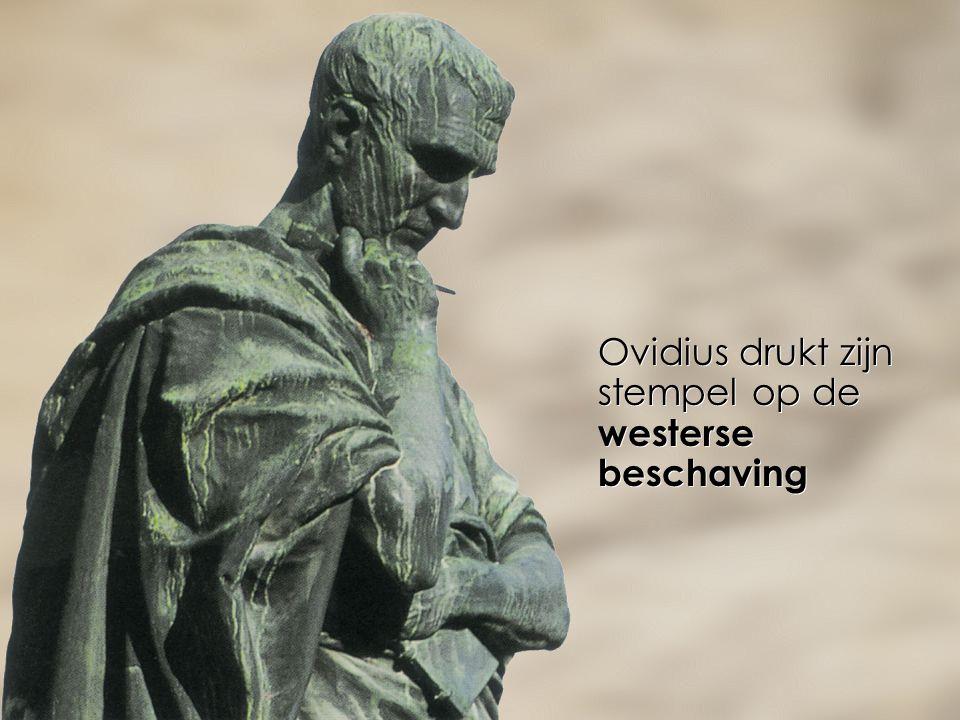 Ovidius drukt zijn stempel op de westerse beschaving