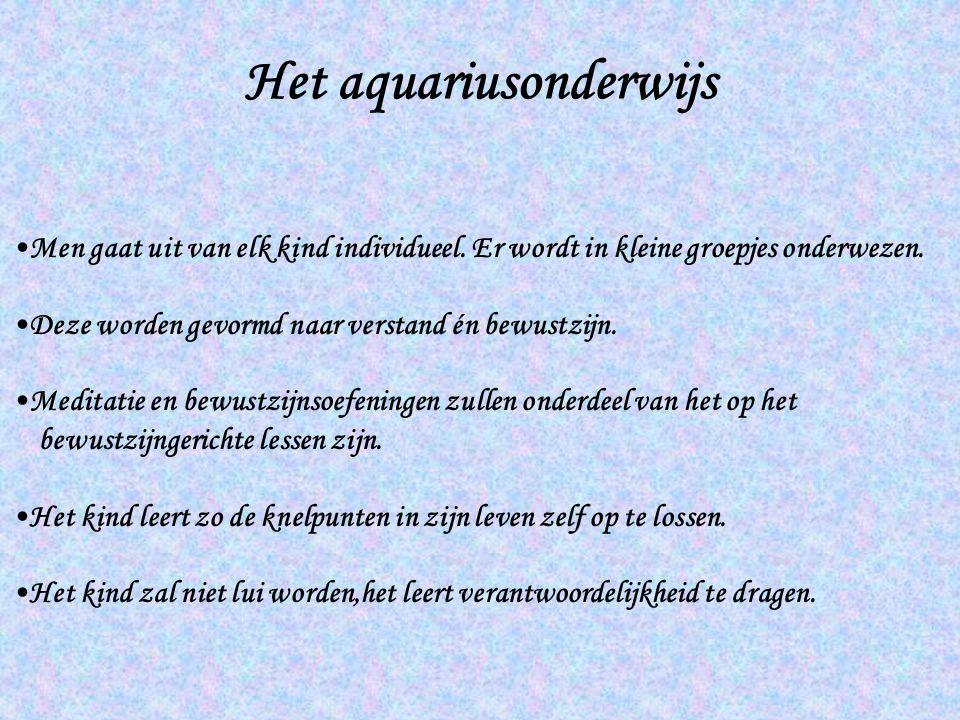 Het aquariusonderwijs