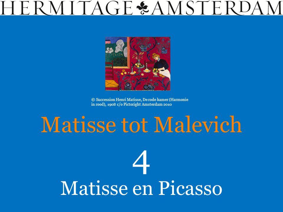 4 Matisse tot Malevich Matisse en Picasso