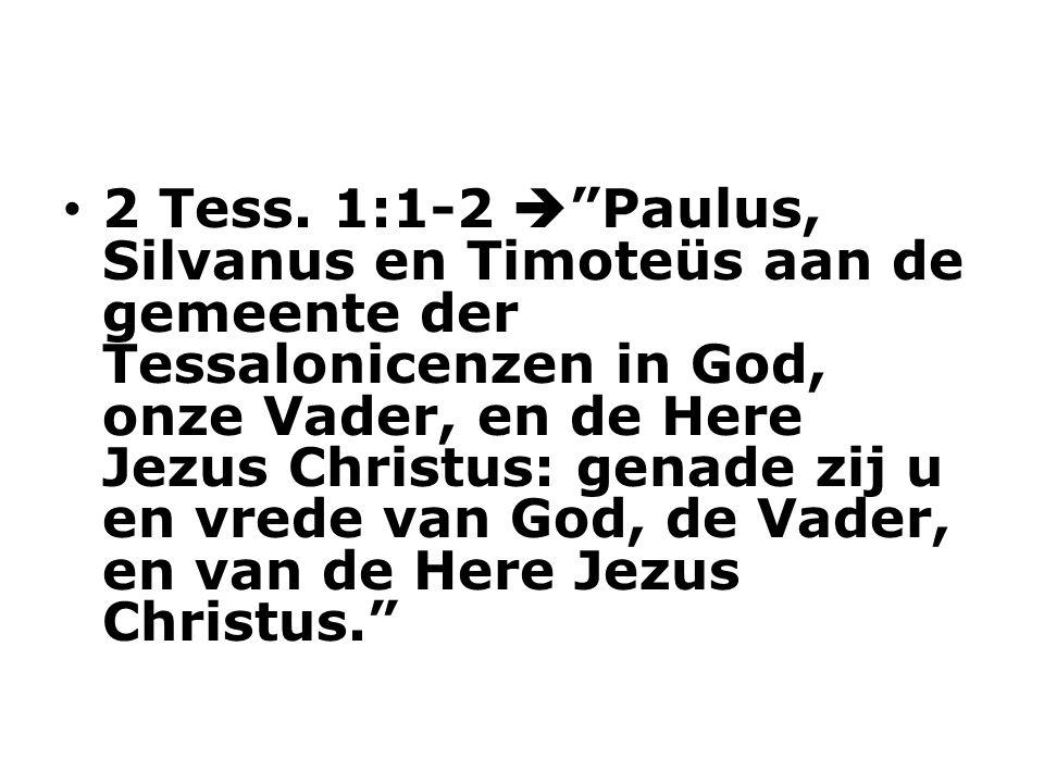 2 Tess.