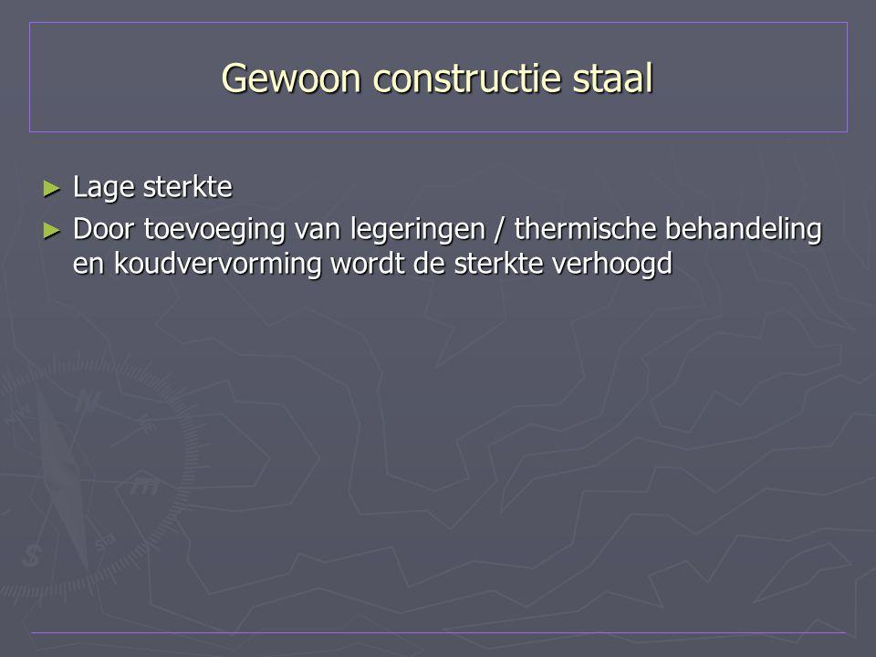 Gewoon constructie staal