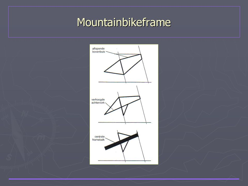 Mountainbikeframe
