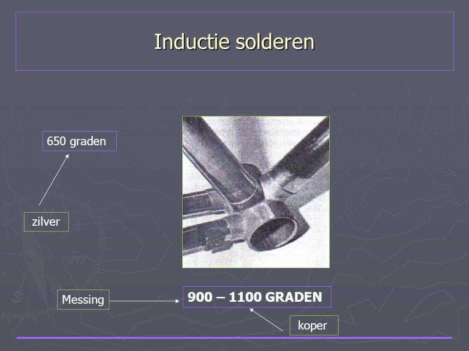 Inductie solderen 650 graden zilver 900 – 1100 GRADEN Messing koper