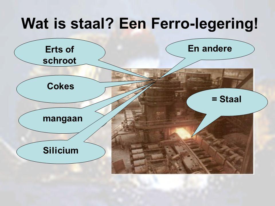 Wat is staal Een Ferro-legering!