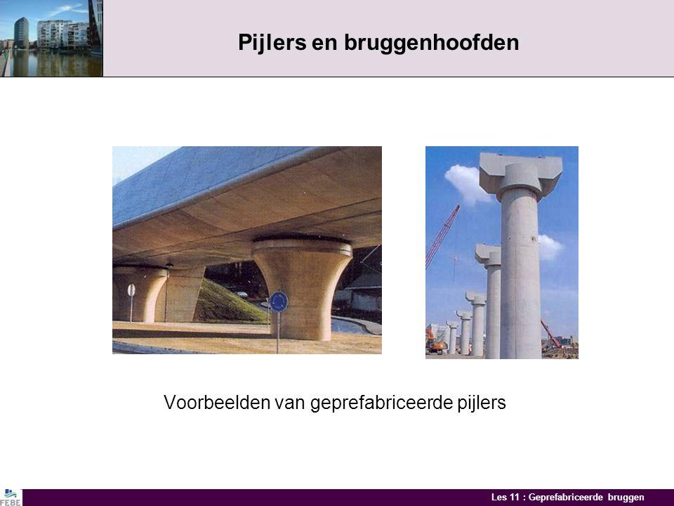 Pijlers en bruggenhoofden