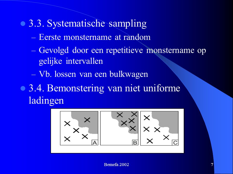 3.3. Systematische sampling