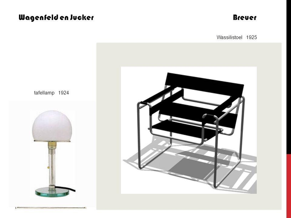 Wagenfeld en Jucker Breuer