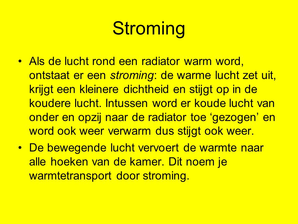 Stroming