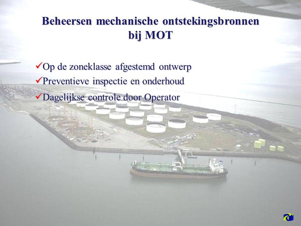 Beheersen mechanische ontstekingsbronnen bij MOT