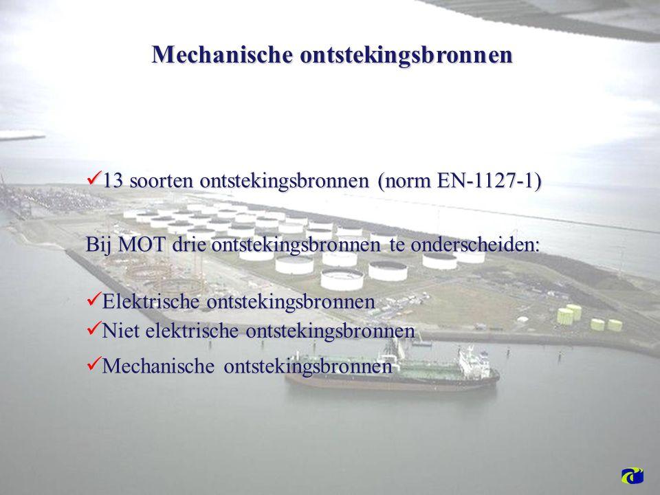 Mechanische ontstekingsbronnen