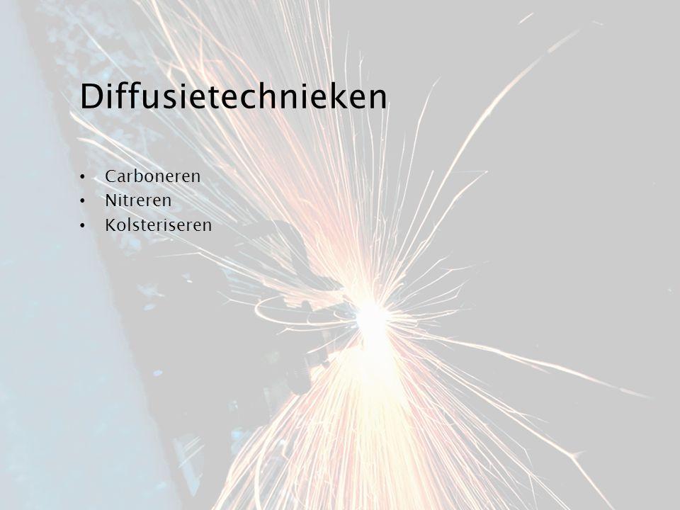 Diffusietechnieken Carboneren Nitreren Kolsteriseren