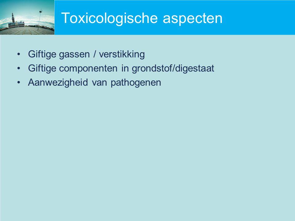 Toxicologische aspecten