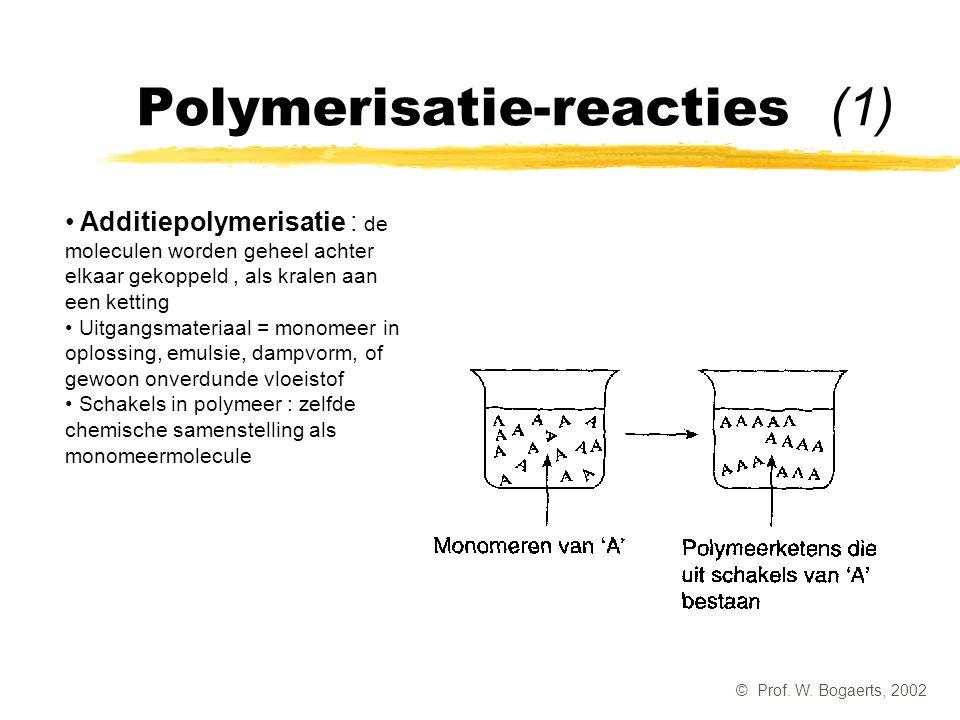 Polymerisatie-reacties (1)