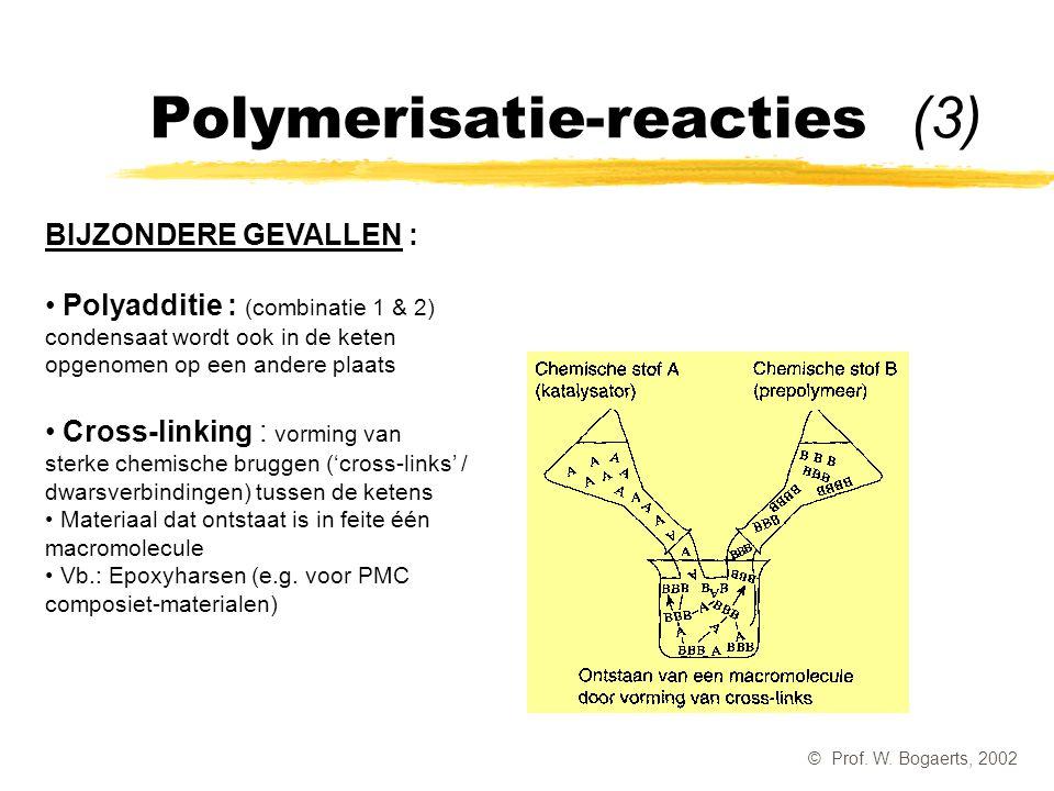 Polymerisatie-reacties (3)