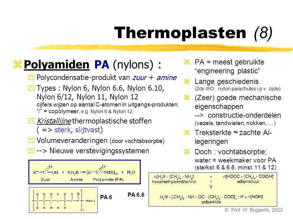 Thermoplasten (8) Polyamiden PA (nylons) :