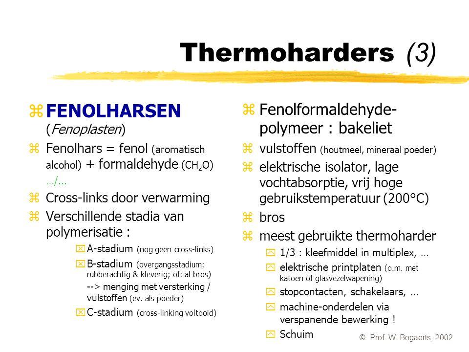 Thermoharders (3) FENOLHARSEN (Fenoplasten)