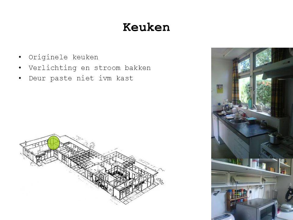 Keuken Originele keuken Verlichting en stroom bakken