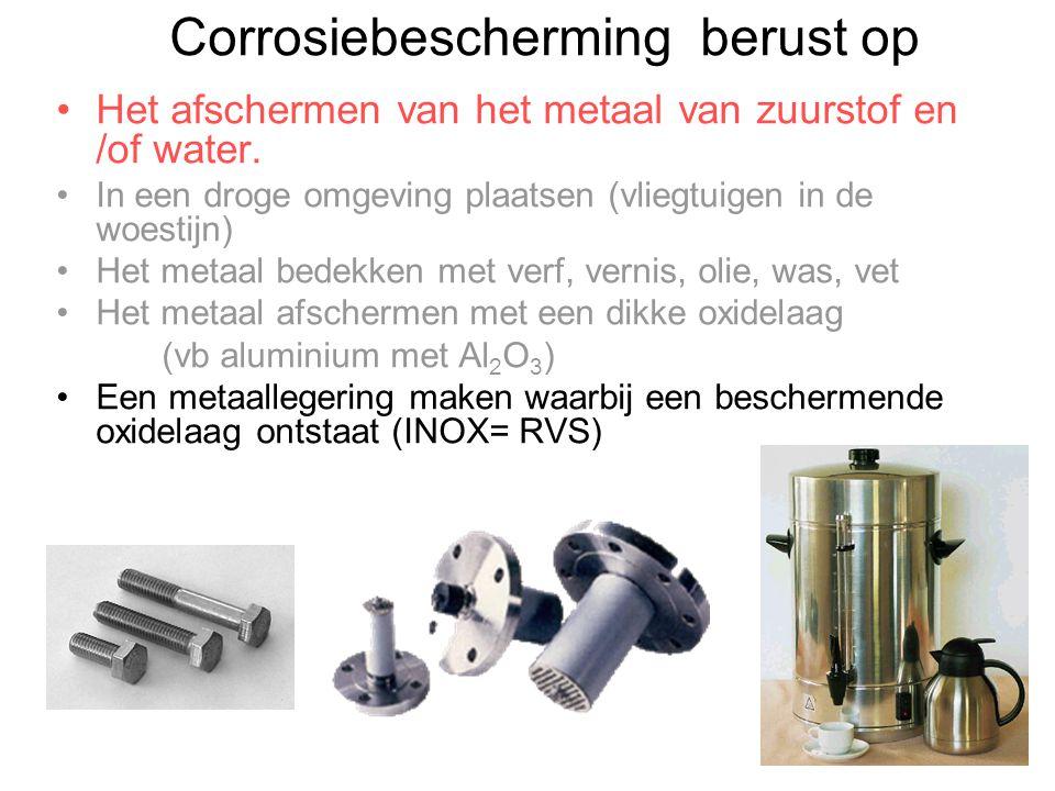 Corrosiebescherming berust op
