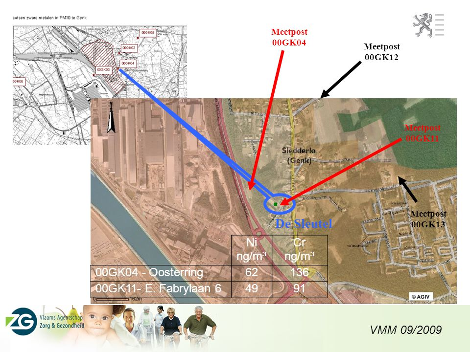 De Sleutel Ni ng/m³ Cr 00GK04 - Oosterring 62 136