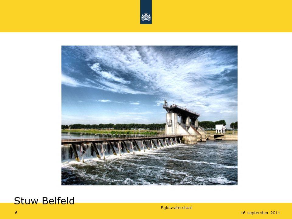 Stuw Belfeld Stuw Belfeld 16 september 2011
