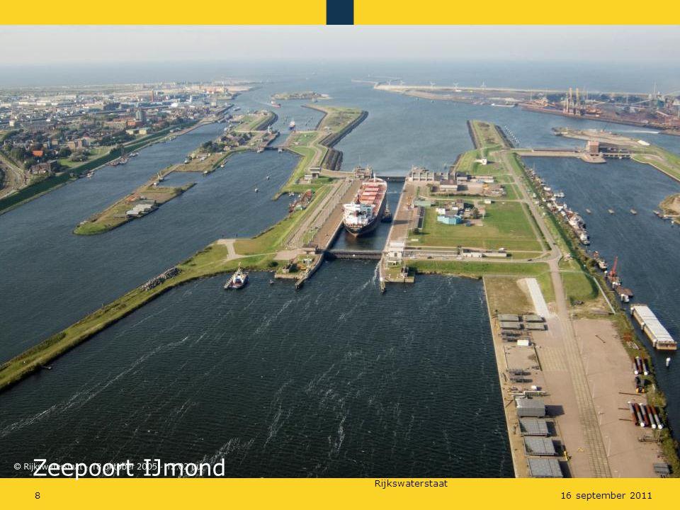 IJmond Zeepoort IJmond 16 september 2011