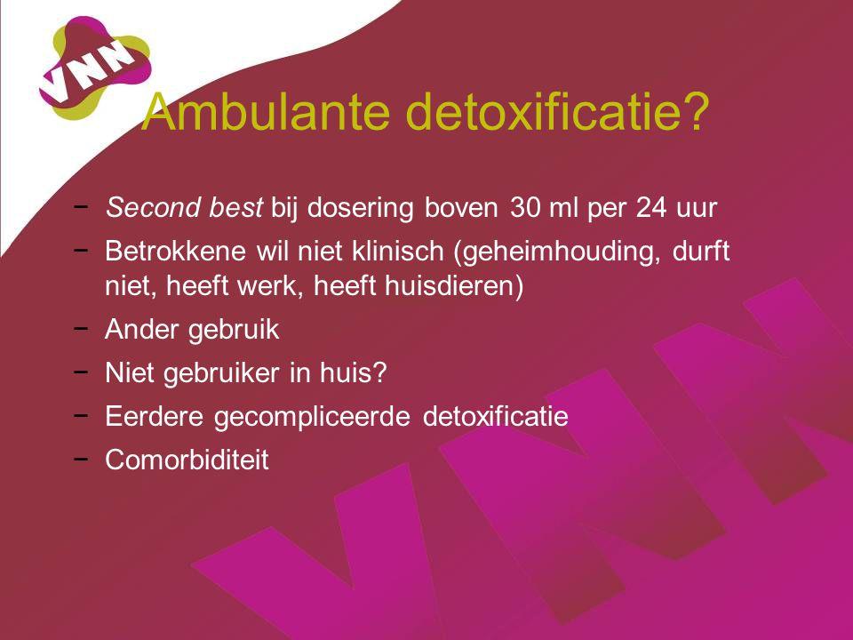 Ambulante detoxificatie