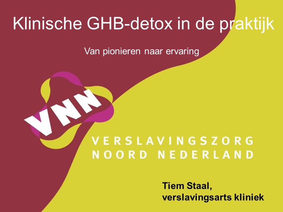 Klinische GHB-detox in de praktijk